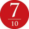 10年サンダルのための10のポイント