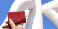 アート鑑賞にも小さい財布