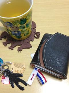 左利き財布