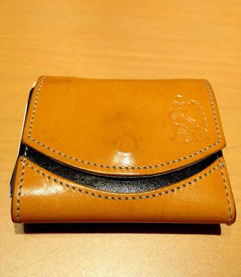 小さい財布エイジング三ヶ月