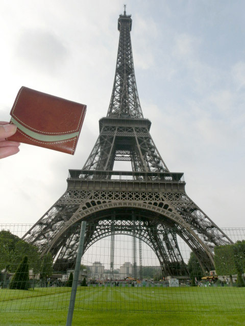 小さい財布とフランス旅行