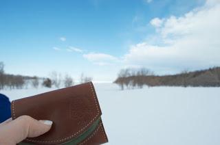 小さい財布と知床