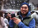 イベントで出逢ったお兄さんと小さい財布