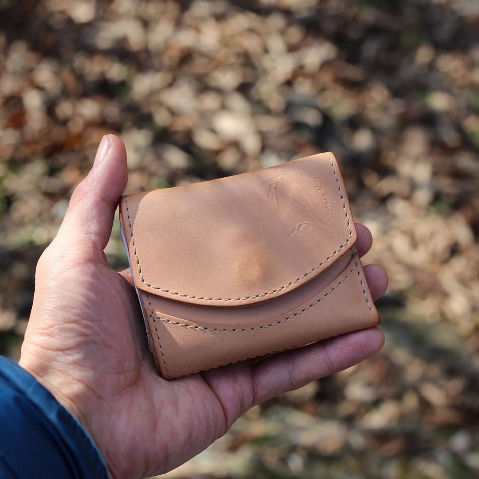 てのひらサイズの小さい財布